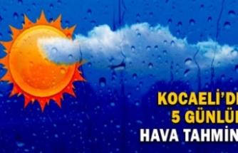 Kocaeli'de güneşli bir hafta bekleniyor