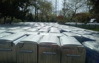 Dilovası'na 400 yeni çöp konteynırı