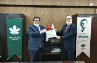 Gelecek Partisi İzmit İlçe Alper Gülebaş'a emanet