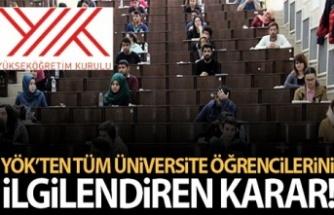 YÖK': Üniversitelerdeki sınavlar yüz yüze gerçekleştirilmeyecek