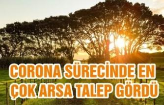 Corona sürecinde en çok Arsa talep gördü