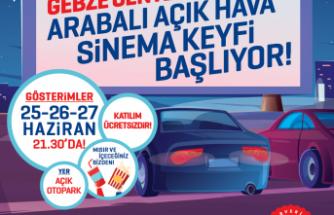 Gebze Center'da Arabalı Açık Hava Sineması günleri başlıyor