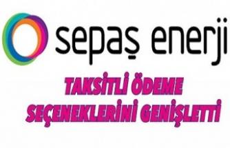 SEPAŞ Enerji taksitli ödeme seçeneklerini genişletti