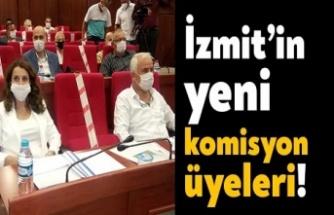 İzmit Belediyesinde encümen ve komisyonlar belli oldu