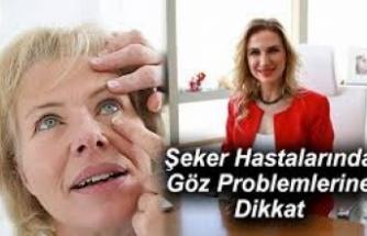 Şeker Hastalarında Göz Problemlerine Dikkat !