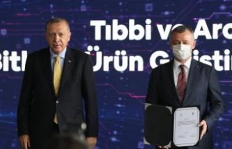 Cumhurbaşkanı Erdoğan'nın katılımıyla imzalar atıldı, Şifa bitkileri için start verildi