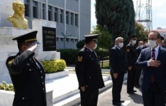 Vali Yavuz'dan kurumlara bayram ziyareti
