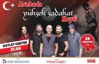 Yüksek Sadakat arabalı konserle İzmit'i coşturacak