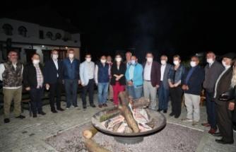 Hürriyet, Ziraat Odası başkanlarını Sarısu'da ağırladı
