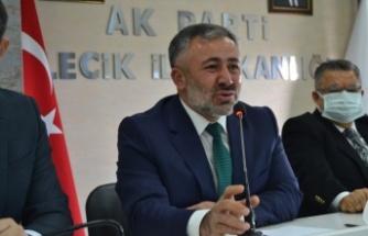 AK Parti Bilecik İl Başkanı Serkan Yıldırım görevi devraldı