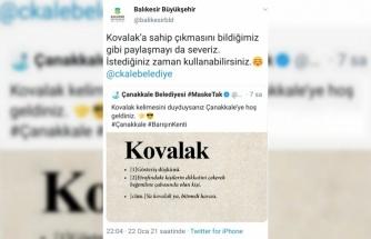 Balıkesir ve Çanakkale belediyelerinin sosyal medyadaki