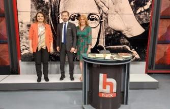 Başkan Hürriyet, Halk TV'de Görkemli Hatıralar programının canlı yayın konuğu oldu
