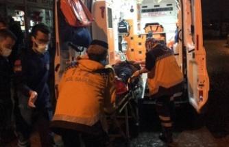 Çalıştığı sırada silahlı saldırıya uğrayan oto tamircisi yaralandı