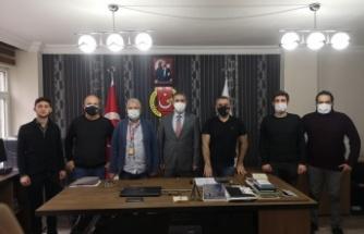 Kandıra Belediye Başkanı Adnan Turan'dan KOGACE'ye ziyaret