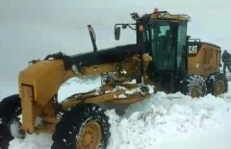 Kar yağışı nedeniyle yaylada mahsur kalan 9 kişiye ulaşıldı