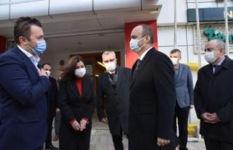 Keşan'da OSB ve Cumhuriyet Meydanı çalışmaları hızlandırıldı