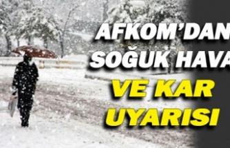 Kocaeli Büyükşehir Belediyesi AFKOM'dan kar uyarısı
