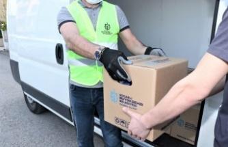 Kocaeli'de salgından etkilenen 150 bin aileye gıda kolisi yardımı