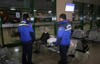 Kocaeli'de sokakta kalan 25 kişi barınma merkezlerine yerleştirildi