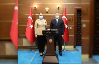 Kosova'nın İstanbul Başkonsolosu Novoberdaliu'dan Vali Kaldırım'a ziyaret