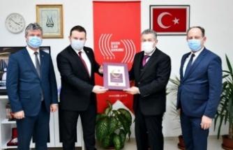 MHP Grup Başkanvekili Bülbül'den BİK Sakarya Şube Müdürlüğü'ne ziyaret