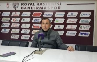 Royal Hastanesi Bandırmaspor-Bereket Sigorta Ümraniyespor maçının ardından