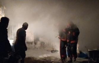 Sakarya'da samanlık yangını zarara yol açtı