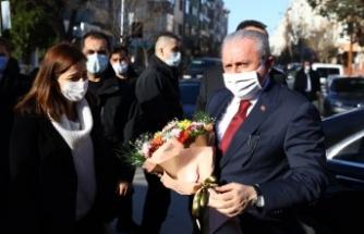 """TBMM Başkanı Mustafa Şentop'tan """"aşı"""" açıklaması:"""