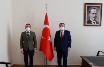 AK Parti'li Ödünç, Bakan Fahrettin Koca'dan Gürsu'daki devlet hastanesi için tomografi cihazı talebinde bulundu