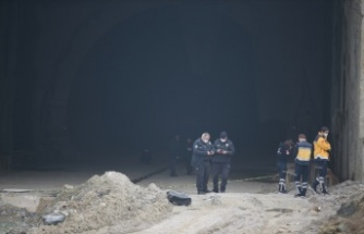 Yüksek hızlı tren tüneli inşaatında yanmış erkek cesedi bulundu