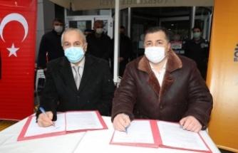 Gebze'de imzalar atıldı