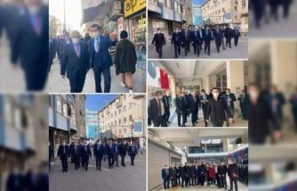MHP Edirne teşkilatı Uzunköprü ilçesinde ziyaretlerde bulundu