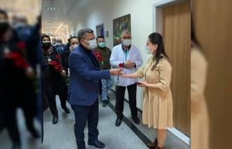 AK Parti Çorlu İlçe Başkanı Keskin'den Kadınlar Günü ziyaretleri