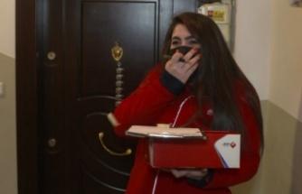 Aras Kargo'dan kadın çalışanlarına sürpriz