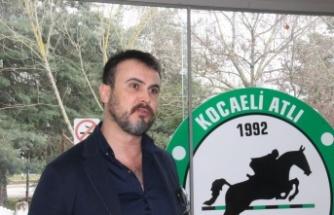 Kocaeli Atlı Spor Kulübünde Başkanlığa Savaş Demirtaş tekrar seçildi