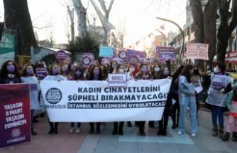 Kocaeli'de 8 Mart Dünya Kadınlar Günü dolayısıyla yürüyüş düzenlendi
