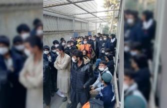 Kocaeli'de 90 düzensiz göçmen yakalandı