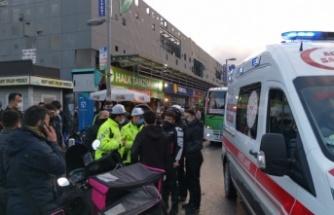 Gebze'de  çarpışan iki motosikletin sürücüleri yaralandı