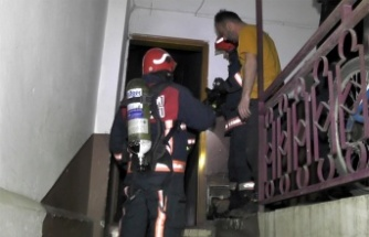 Sakarya'da yangın maddi hasara neden oldu