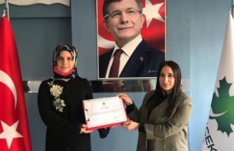 Sefa Sirmen'in yeğeni Gelecek Partisinde Gençlik kolları başkanı oldu