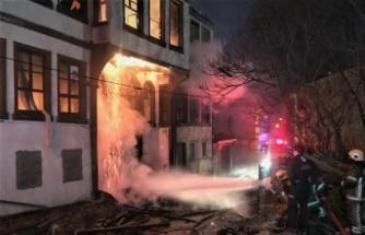 Bursa'da kullanılmayan binada çıkan yangın söndürüldü