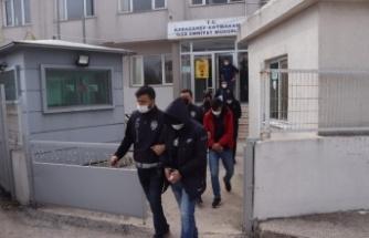 Bursa'da uyuşturucu operasyonunda yakalananlardan 6'sı tutuklandı