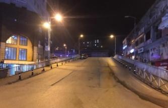 Kısıtlamanın başlamasıyla sokaklar boşaldı