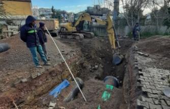 İSU'dan, Gebze Eskihisar'da altyapı çalışması