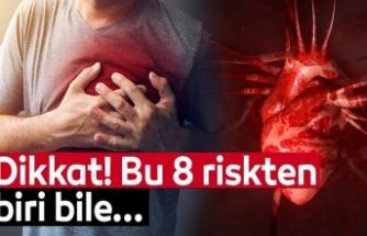 """""""Kalp sağlığını etkileyen 8 risk faktörüne dikkat"""" uyarısı"""