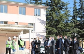 Kırklareli Valisi Osman Bilgin, yatırımları inceledi