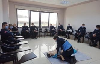 KO-MEK'ten zabıtaya ilk yardım eğitimi