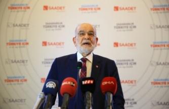 Saadet Partisi Genel Başkanı Karamollaoğlu, Sakarya 7. Olağan İl Kongresi'nde konuştu: