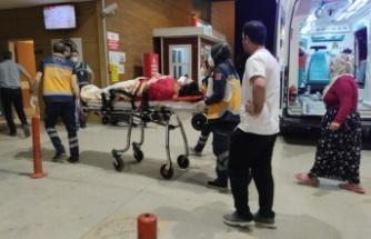 2. kattaki evinin penceresinden düşen genç kız yaralandı