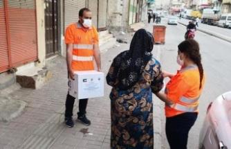 Kuveyt Vakıflar Genel Sekreterliğinin ramazan yardımları dağıtıldı